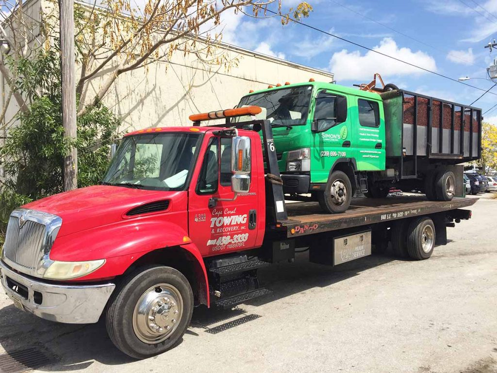 Flat Bed Towing Services - Cape Coral Towing